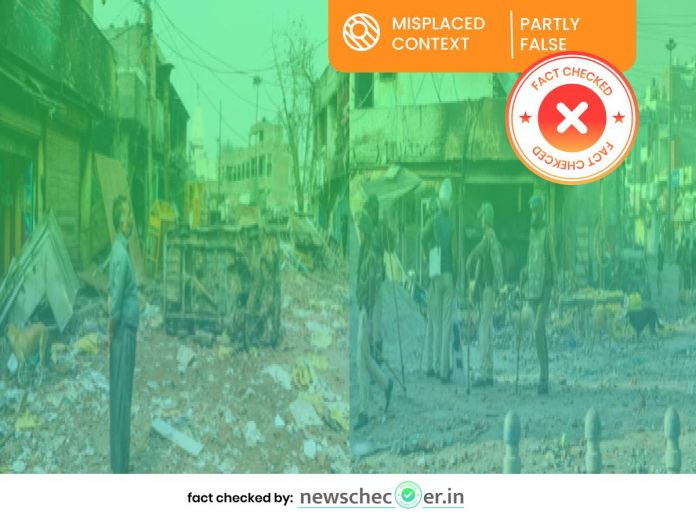Old Images From Northeast Delhi Riots Shared As Aftermath Of Communal Violence In Bhainsa Town