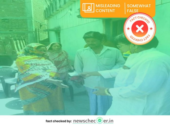 Congress candidate Mainul Hauqe old images shared with misleading claim