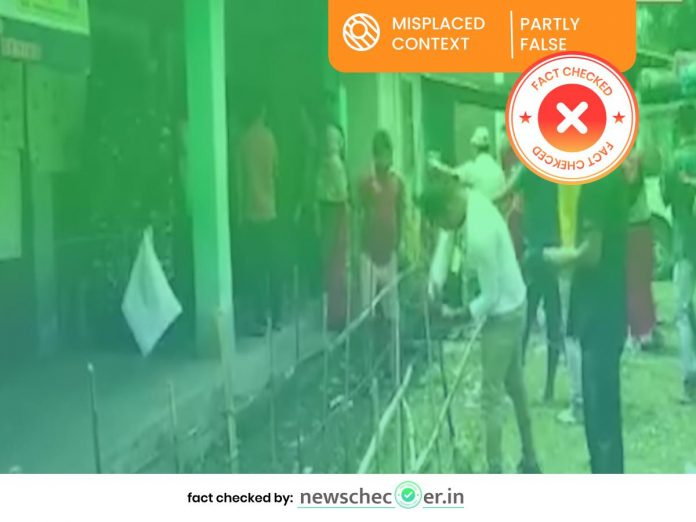 2019 Video From Manipur Shared As Mamata Banerjee's Supporters Storming Polling Booth In Cooch Behar