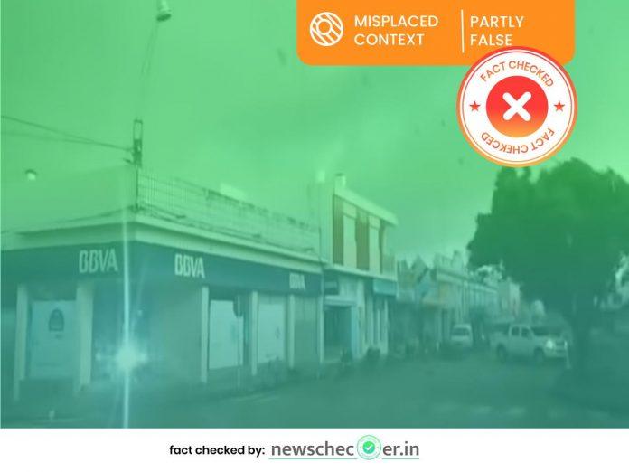 Uruguay 2016 tornado video shared by ABP Ananda